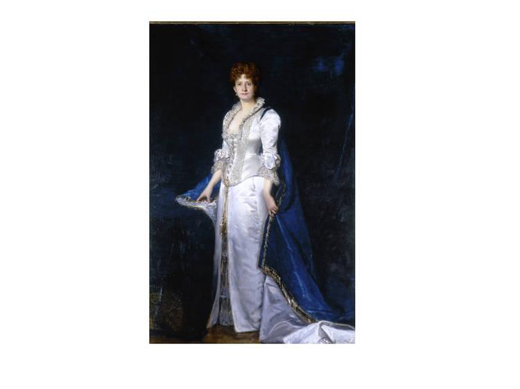 O 'Retrato de D. Maria Pia' por Duran