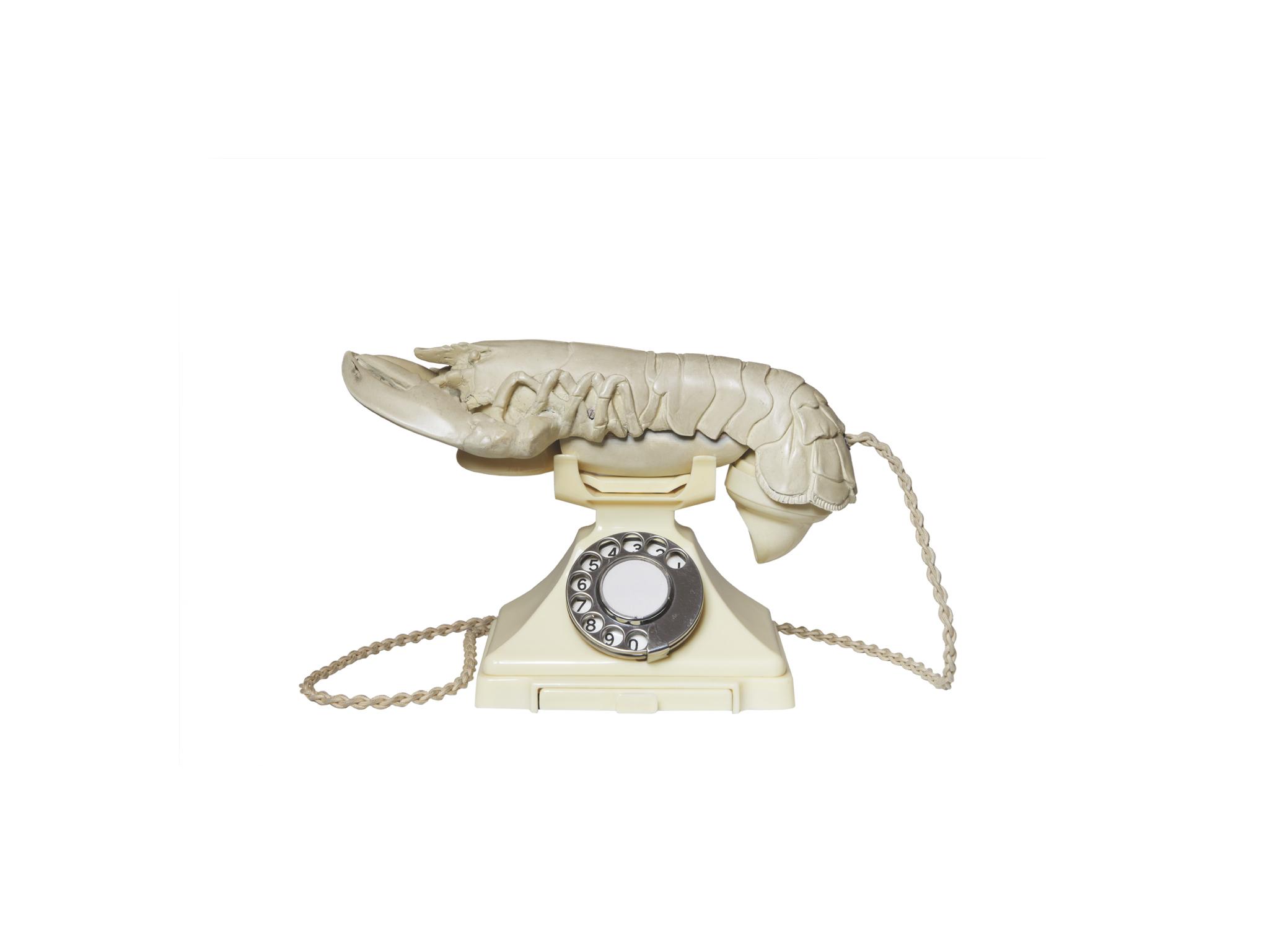 white afrodisiac telephone dali