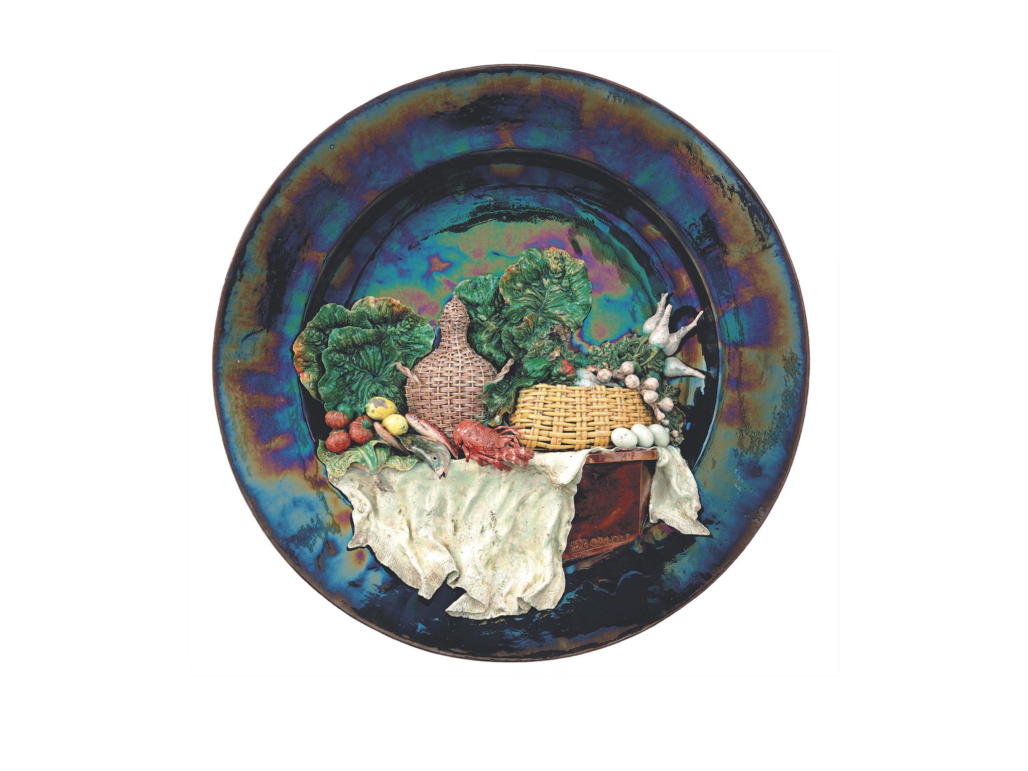 mesa posta de bordalo pinheiro
