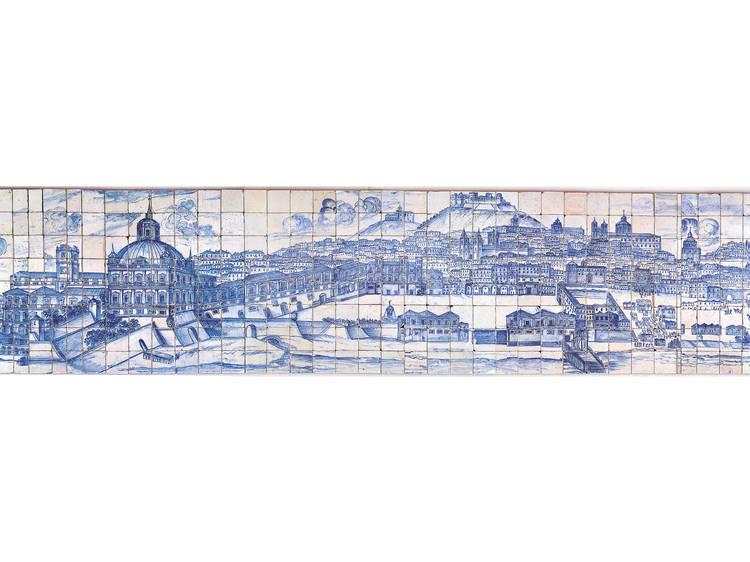 Fazer contas no Museu Nacional do Azulejo