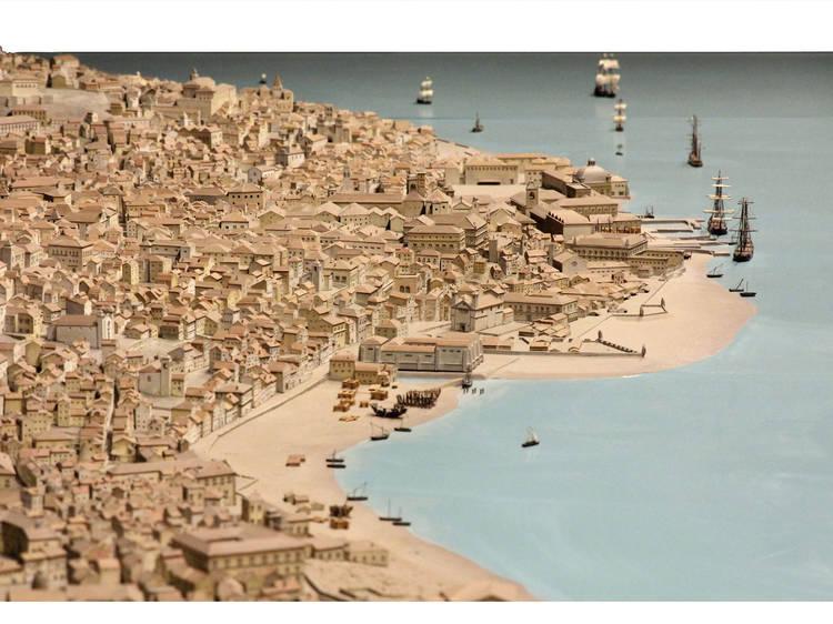 A Maquete de Lisboa anterior ao terramoto de 1755