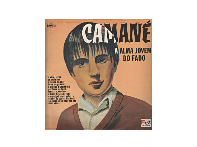 lp do camané no museu do fado
