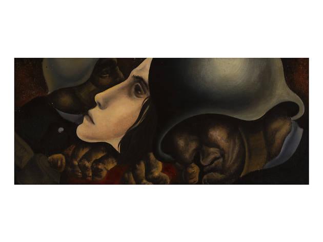JÚLIO POMAR Resistência, 1946 no atelier museu julio pomar