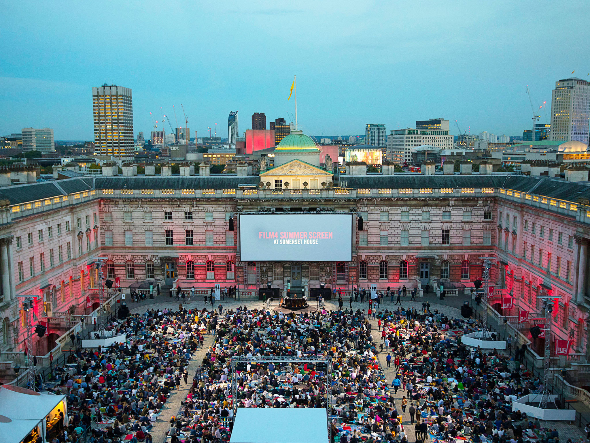 The best outdoor cinema in London