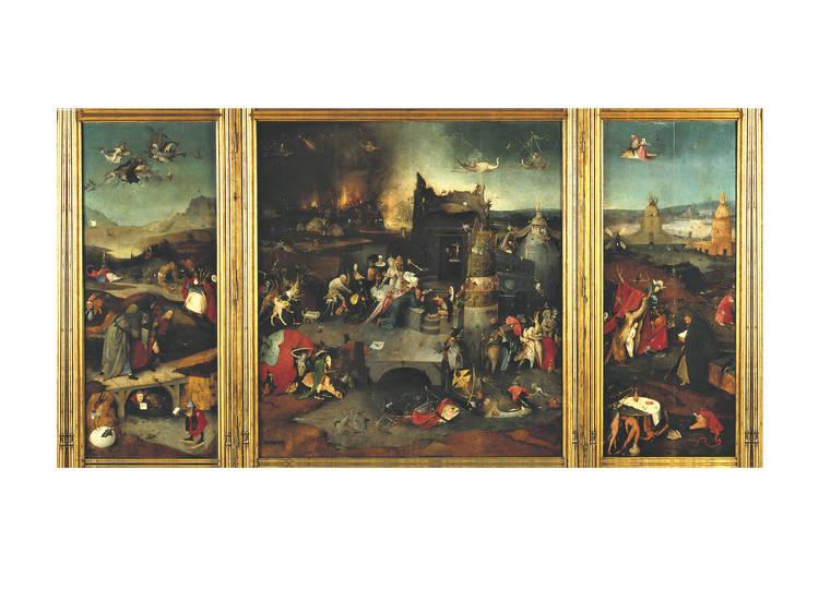 As 'Tentações de Santo Antão' de Bosch
