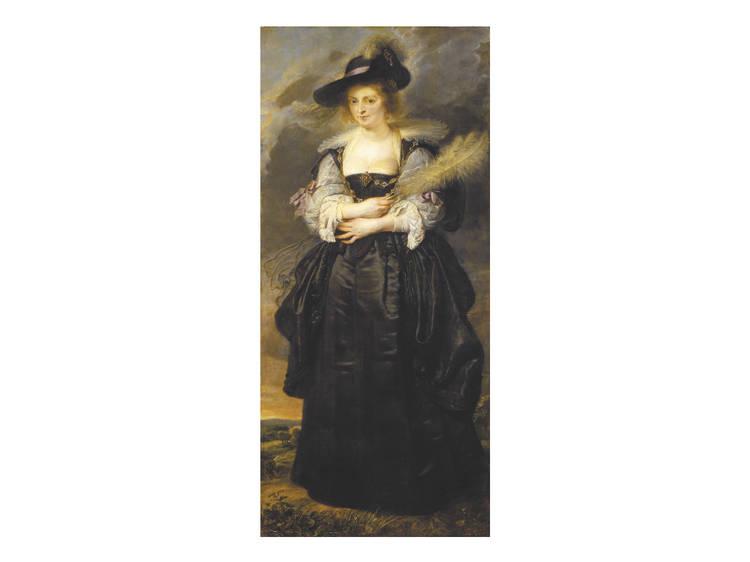 O 'Retrato de Helena Fourment' por Rubens