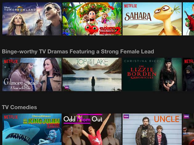 Netflix screen shot