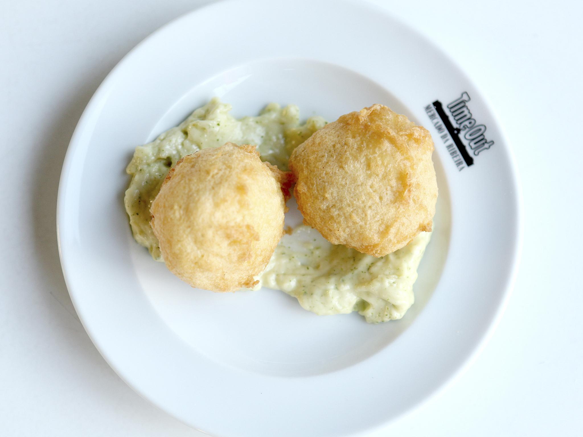 Ovo verde de bacalhau – Cozinha da Felicidade