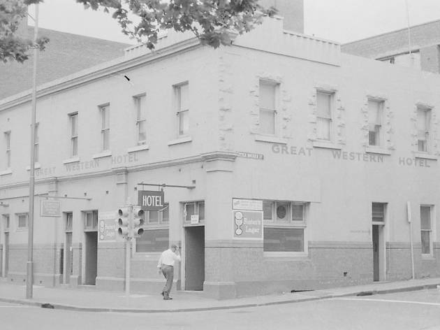 Great Western Hotel in 1972