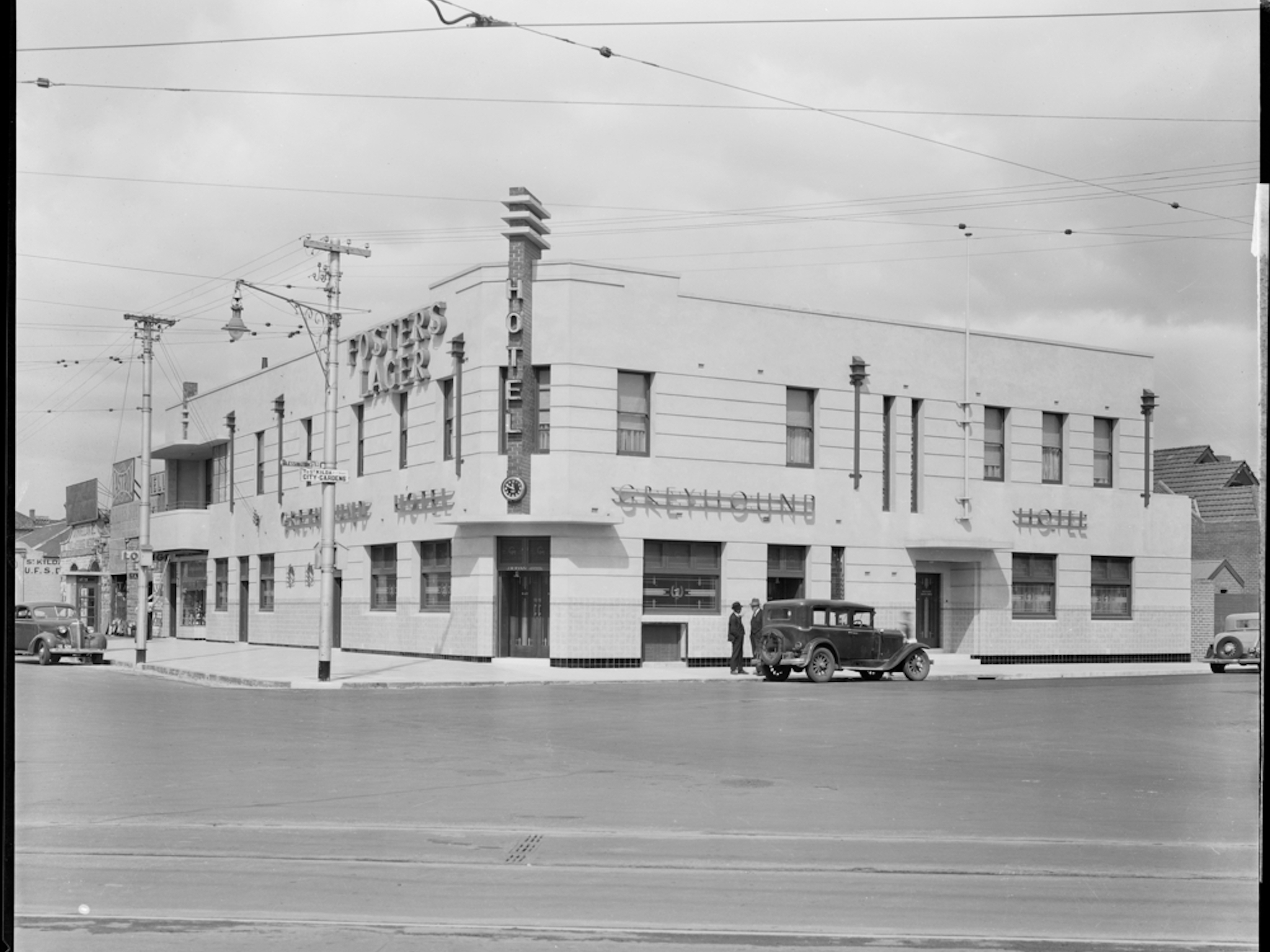 The Greyhound Hotel in 1936
