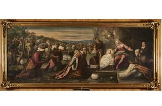 pintura de Jacopo Tintoretto e Domenico Tintoretto