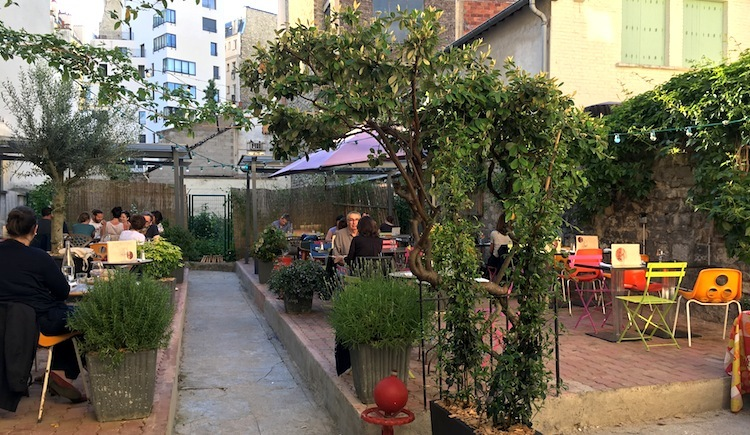 TUESDAY - A new secret terrace