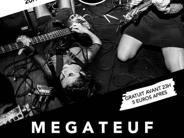 MEGATEUF : The Vacant Lots + Elephant Stone + Strange Cages