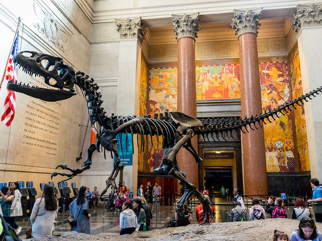 Cool dinosaur activities for kids in NYC