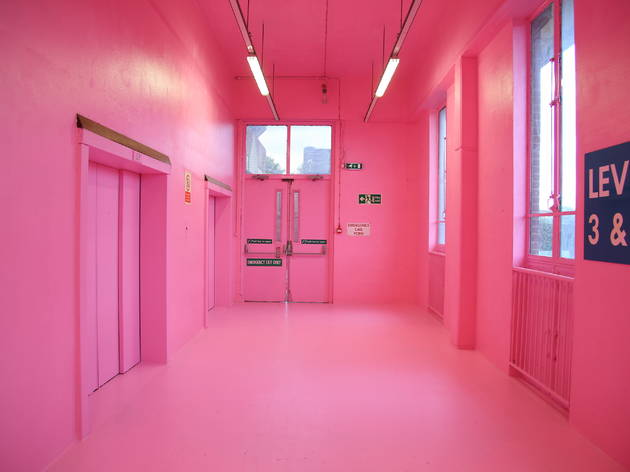 Nine seriously pink places in London