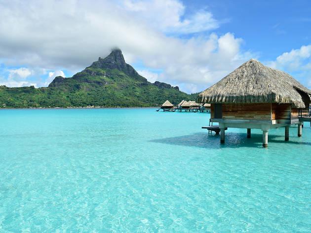 Bora Bora i Tahití