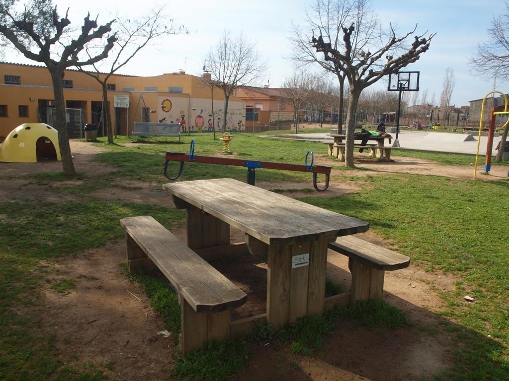 Parc Infantil L'Aixart de Cervià de Ter