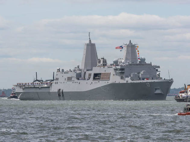 A giant parade of ships will kick off this year's Fleet Week