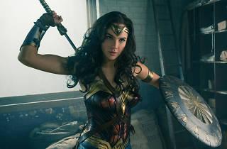Gal Gadot as Wonder Woman in Warner Bros' action adventure film