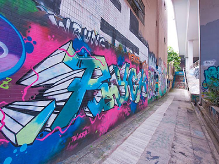 Mong Kok's Wall of Fame