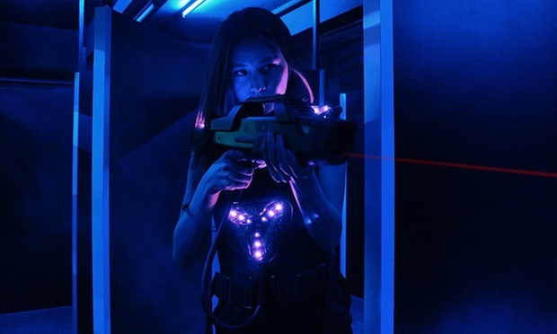 Get the adrenaline pumping with lasertag