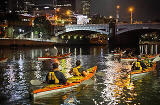 Kayak Melbourne Moonlight Kayak Tours