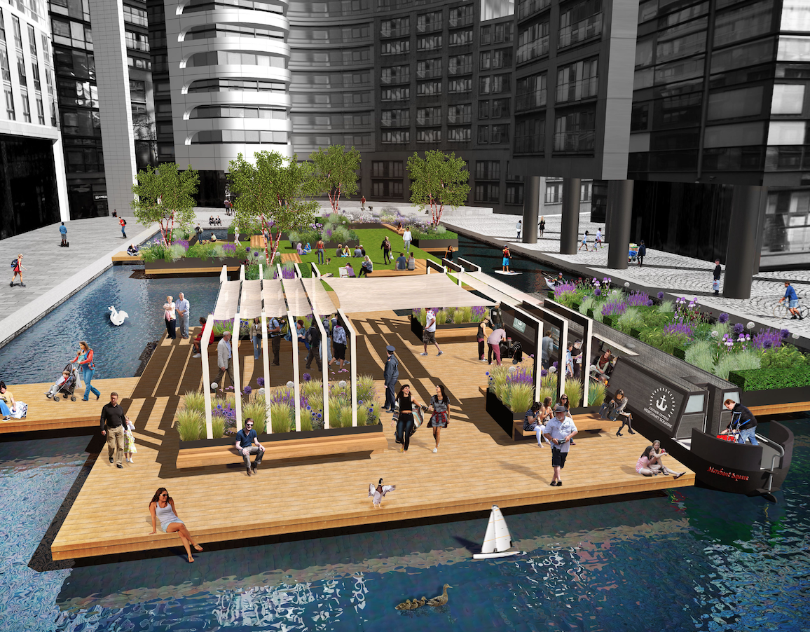 Floating Pocket Park