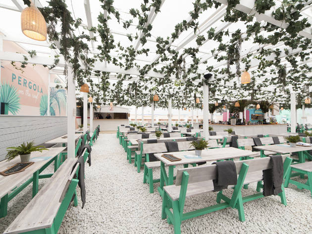 Eat: Pergola on the Roof
