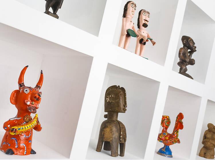 Admire a arte bruta, primitiva e popular na Cruzes Canhoto