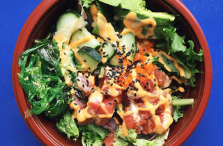 Poke bowl at Poke Delish