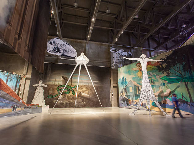 Contemporary art and Freemasonry collide at the new Marciano Art Foundation