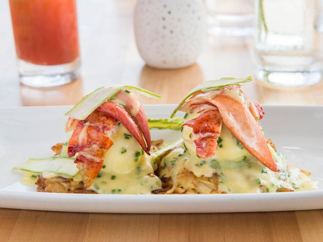 Lobster Benedict at Seaspice