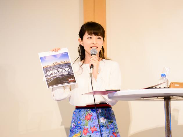 Rio Hirai at the Open Tokyo seminar | Time Out Tokyo