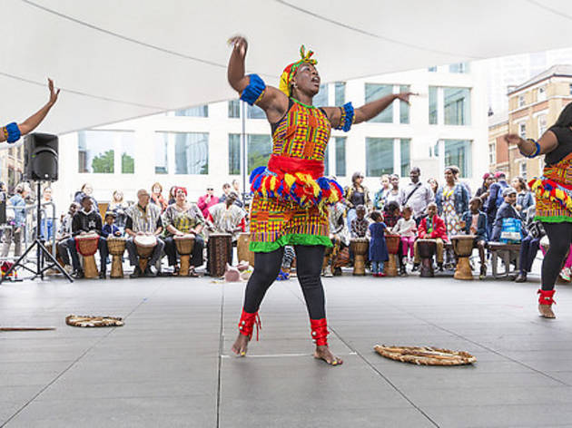 Africa at Spitalfields