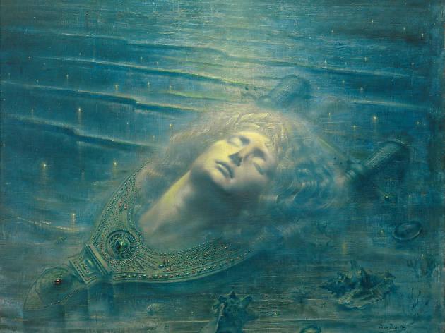 Jean Delville  The Death of Orpheus (Orphée mort), 1893