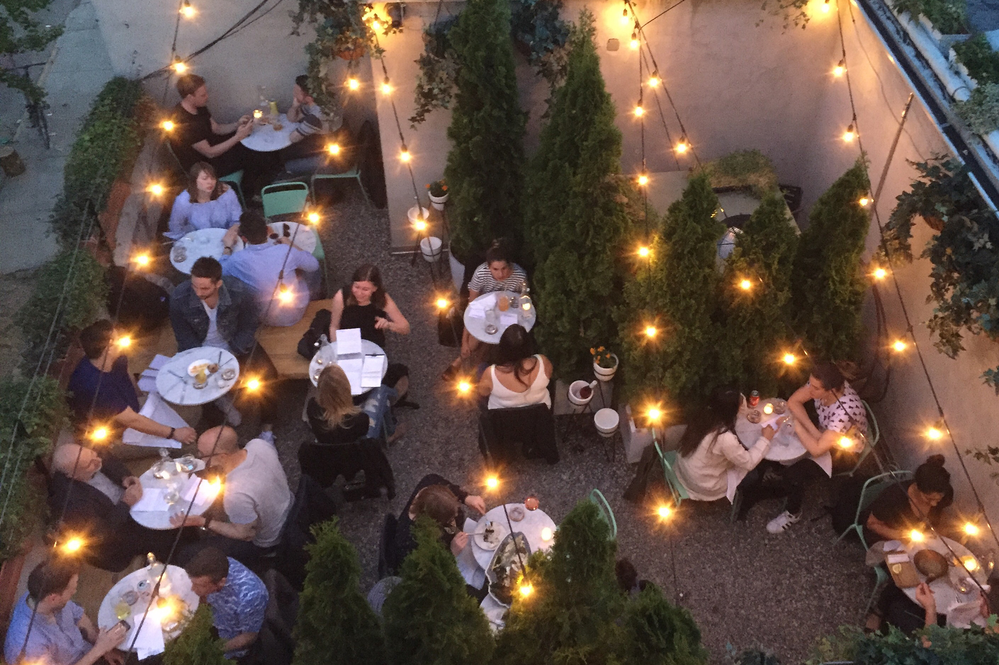 The best outdoor happy hours in NYC