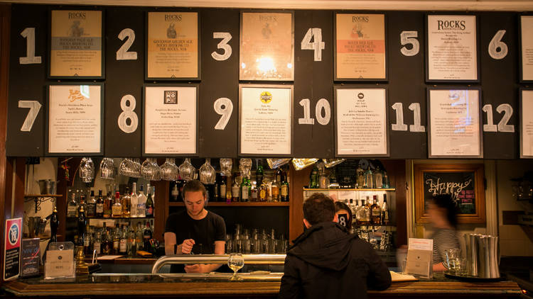 Bar 2 at Harts Pub