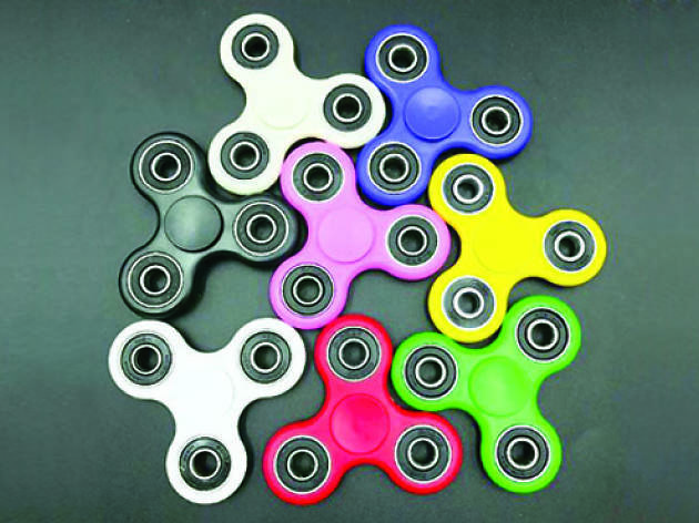 What's up with fidget spinners?