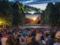 Open air cinema at Domaine Saint Cloud