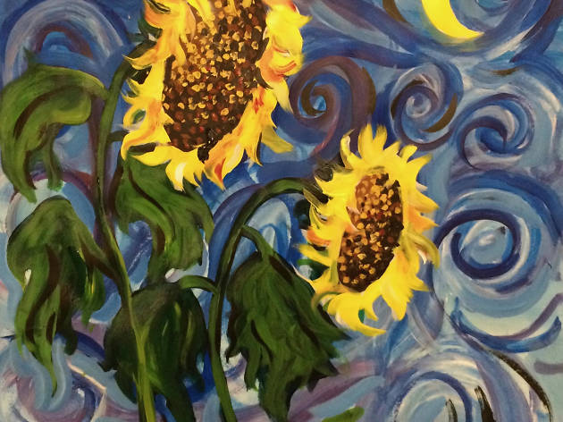 Arte Bar, Sunflowers