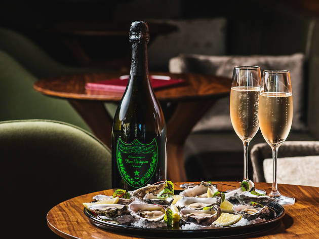 Dom Pérignon and oysters