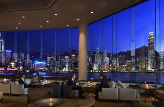 Intercontinental Hong Kong lobby bar
