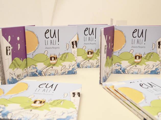 Livro infantil: A Lisboa de Alexandra Marguerita, ilustradora de 'Eu Li Ali!'