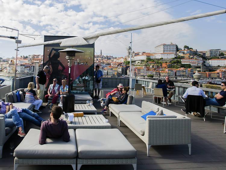 Os melhores rooftops no Porto