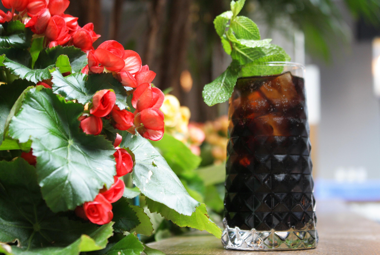 Fernet Lola and Cola at Boleo