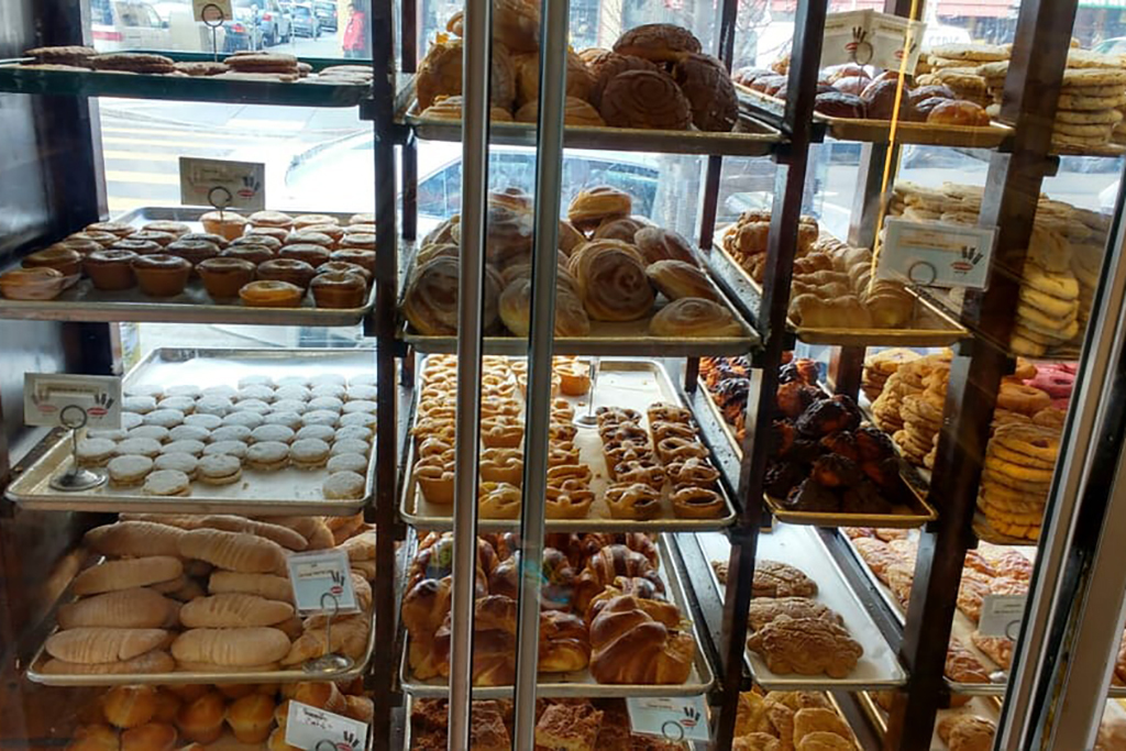 Pastries at La Victoria