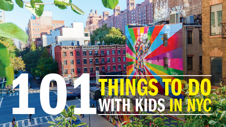 The best 101 things to do with kids in NYC