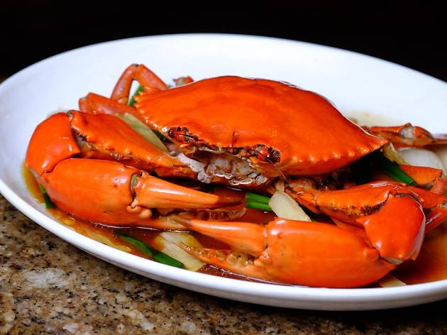 Ah Hoi's Kitchen, Stir-fried Ginger and Onion Crab