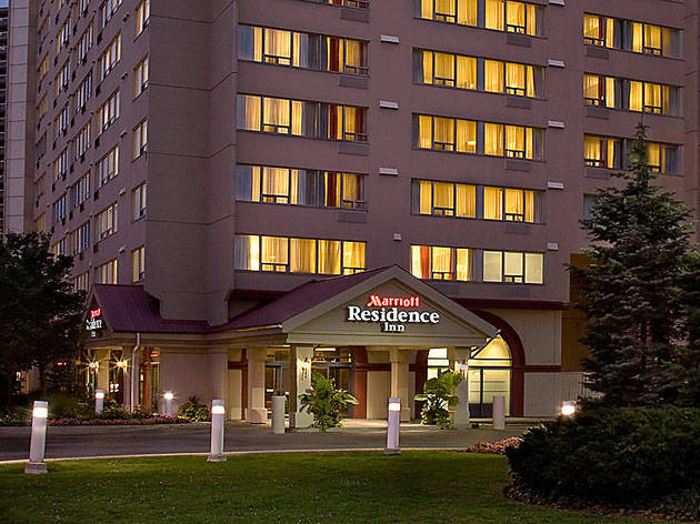 The Residence Inn Downtown London Ontario is located downtown London ONT Canada and is steps from the London Galleria Mall, London Convention Center, John Labatt Centre, Grand Theatre, Covent Garden Market, Museum London and the University of Western Ontario.