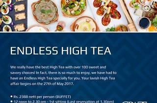 Endless High Tea at Graze Kitchen
